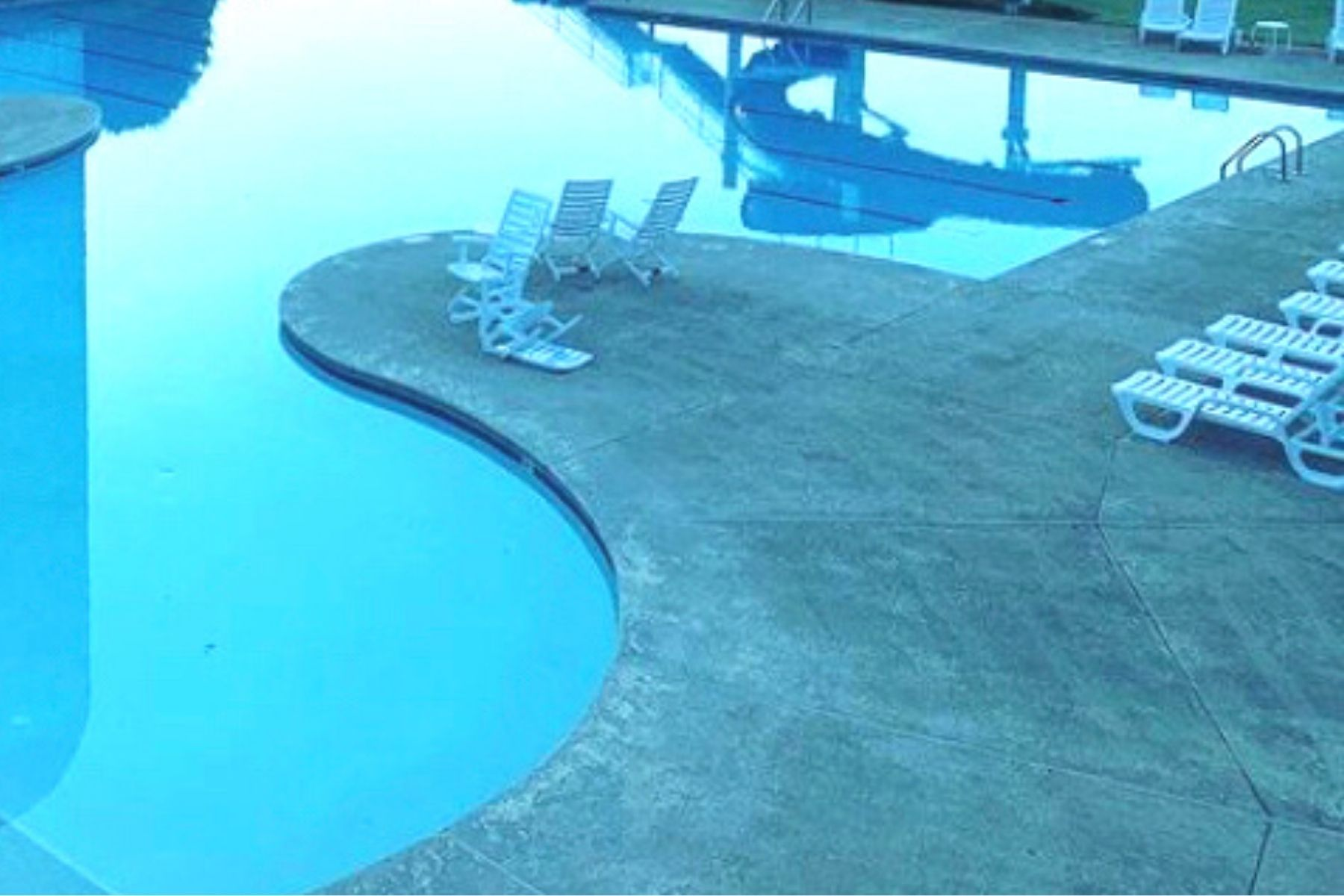 Clean Backyard Pool Water